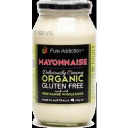 Photo of Pure Addiction Mayonnaise - Whole Egg