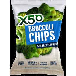 Photo of X50 Broccoli Chips Rck Slt 40g