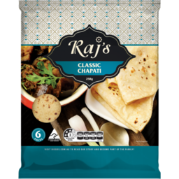 Photo of Rajs Classic Chapati 258g