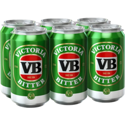 Photo of Victoria Bitter Can 6 Pack