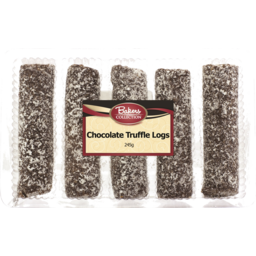 Photo of Bakers Collection Truffle Logs Choc 245g