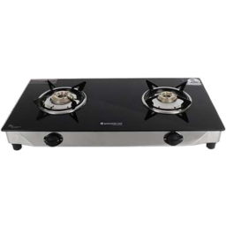 Photo of Wonderchef Energy 2 Burner Glass Cooktop With 1.8M Pipe And Regulator