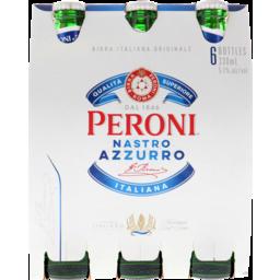 Photo of Peroni Nastro Azzurro Bottle 6 Pack