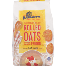 Photo of Harraways Rolled Oats 800g