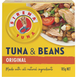 Photo of Sirena Original Tuna & Beans 185g