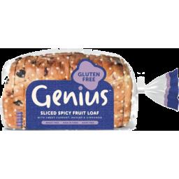 Photo of Genius Bread Gluten Free Fruit Loaf 400gm