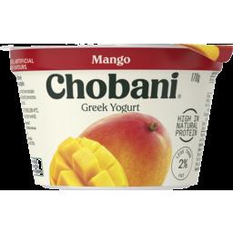 Photo of Chobani Mango Greek Yogurt 170g