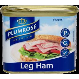 Photo of Plumrose Premium Leg Ham 340g