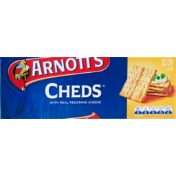 Photo of Arnott's Biscuits Cheds (250g)