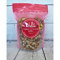 Photo of Adelia Fine Foods Cranberry & Macadamia Granola 650g