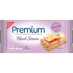 Photo of Nabisco Premium Black Sesame 12 Portion Packs 300g