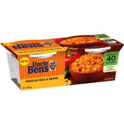 Photo of Uncle Ben's Mexican Beans Rice 2x125g