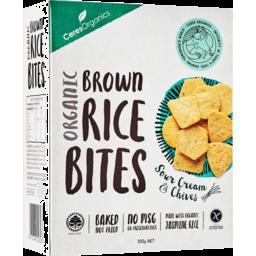 Photo of Ceres Organics Brown Rice Bites - Sour Cream & Chives