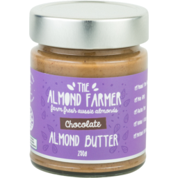 Photo of The Almond Farmer Almond Butter Choc 200g