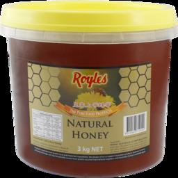 Photo of Royles Natural Honey 3kg