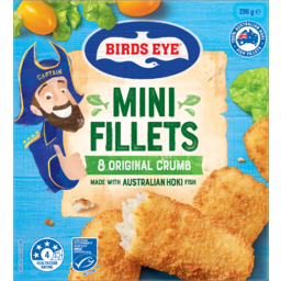 Photo of Birds Eye Original Crumb Mini Fillets 296g