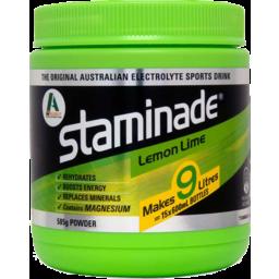 Photo of Staminade Powder Lemon/Lime585g