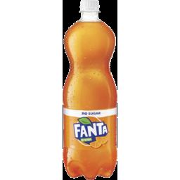Photo of Fanta Orange No Sugar Soft Drink Bottle 1.25l