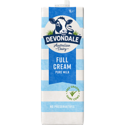 Photo of Devondale Full Cream Milk 1l