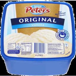 Photo of Nestle Peters Original Vanilla 4 Litre