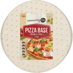 Photo of Community Co. Pizza Bases 600g