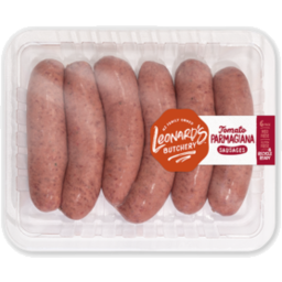Photo of Leonards Tomato Parmigiana Sausages 6pk