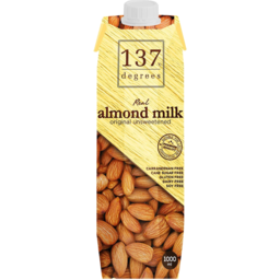 Photo of 137 Degrees Almond Milk Unsweetened 1l