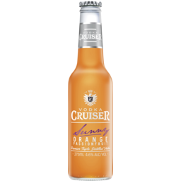 Photo of Vodka Cruiser Sunny Orange Passionfruit Bottles