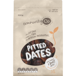 Photo of Community Co. Pitted Dates 500g