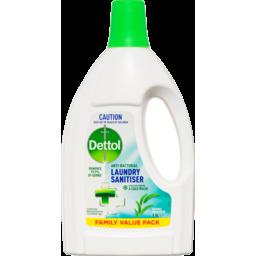 Photo of Dettol Antibacterial Natural Eucalyptus Laundry Sanitiser 1.5l