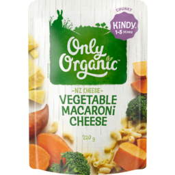 Photo of Only Organic Pasta Ex Macaroni & Cheese 220g