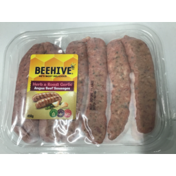Photo of Beehive Herb & Garlic Sausages 450g
