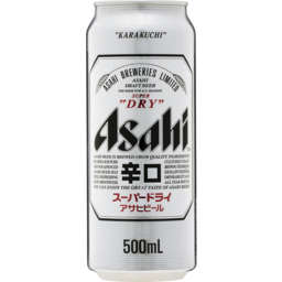 Photo of Asahi Super Dry Can 500mL