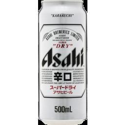Photo of Asahi Super Dry Can 500ml