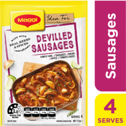 Photo of Maggi Recipe Mix Devilled Sausages 37g