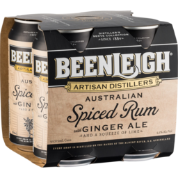 Photo of Beenleigh Spiced & Ginger Cans