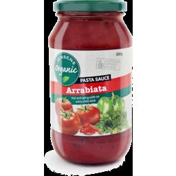 Photo of Jensens Organic Pasta Sauce - Arrabiata