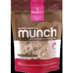 Photo of Thinkfood Munch Nutritious Snack Cashew Raspberry 140g