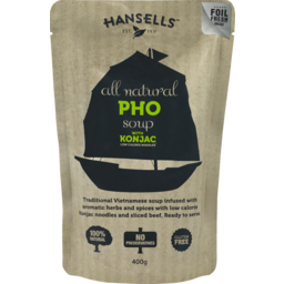 Photo of Hansells All Natural Pho Soup With Konjac Noodles 400g
