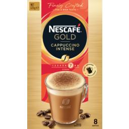 Photo of Nescafe Gold Coffee Mixes Cappuccino Intense 8pk 14.5g