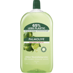 Photo of Palmolive Antibacterial Hand Wash Lime Refill 1L