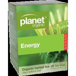 Photo of Planet Organic - Energy - 25 Tea Bags