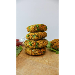 Photo of Curried Chickpea Burger Patties Each