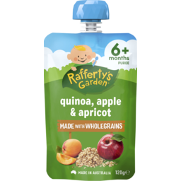 Photo of Rafferty's Garden Quinoa, Apple & Apricot 120g
