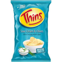 Photo of Thins Chips Sour Cream & Chives 175g