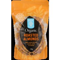 Photo of Chantal Organics Almonds Roasted 175g