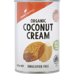 Photo of Ceres Organics Organic Coconut Cream 400ml