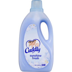 Photo of Cuddly Fabric Softener Conditioner Sunshine Fresh Made In Australia 2l