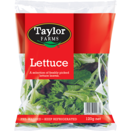 Photo of Taylor Farm Salad Lettuce 120g