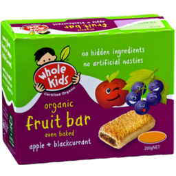 Photo of Whole Kids Bars - Apple & Blackcurrant (4 Pack)